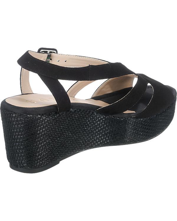 Unisa Kenya Sandaletten schwarz