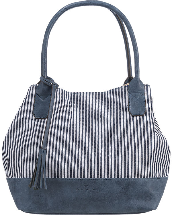 TOM TAILOR TOM TAILOR Marina Shopper blau