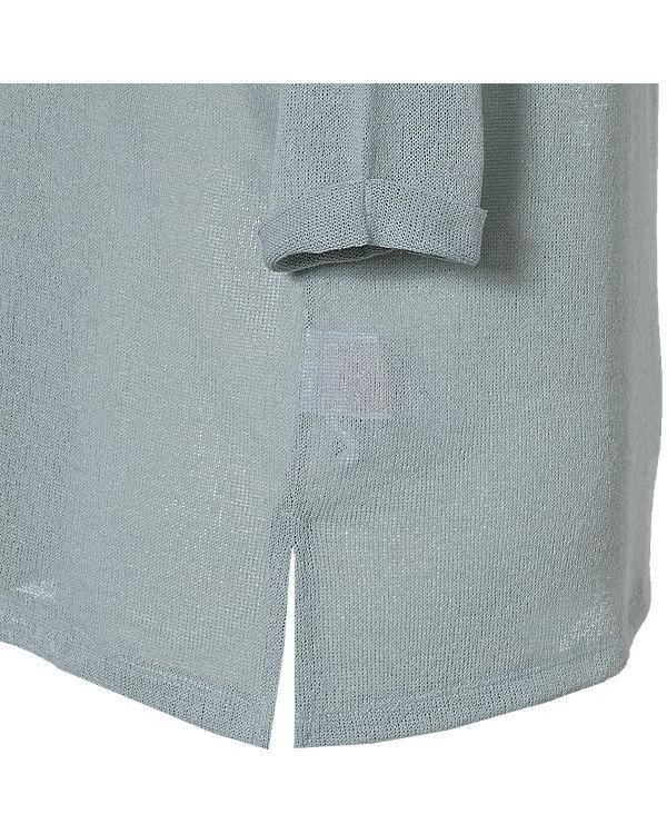 JUNAROSE 3/4-Arm-Shirt blau