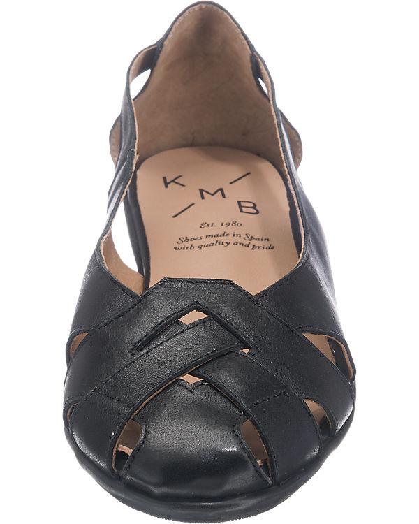 KMB Espuma Ballerinas schwarz