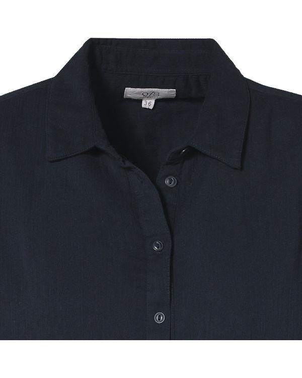 Q/S Bluse dunkelblau