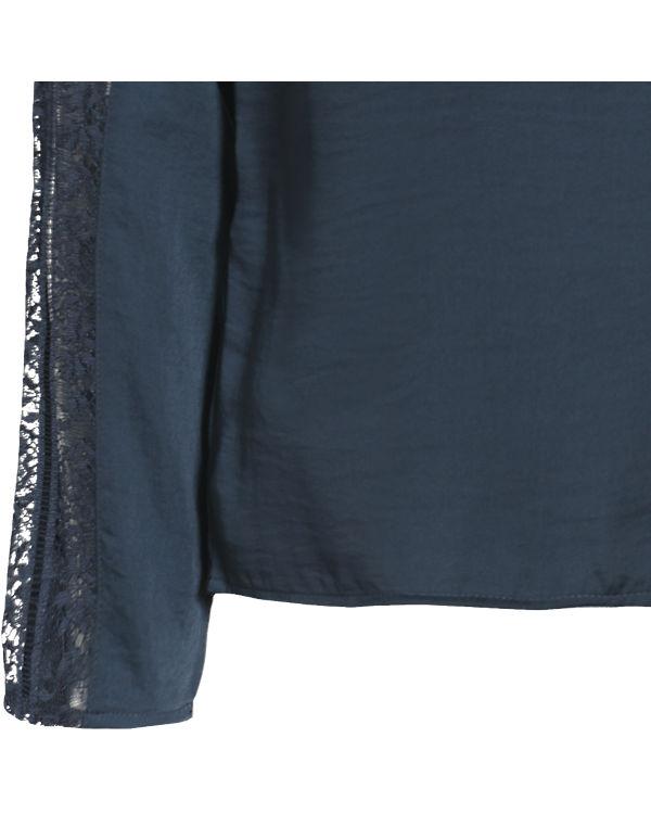 VILA Blusenshirt dunkelblau