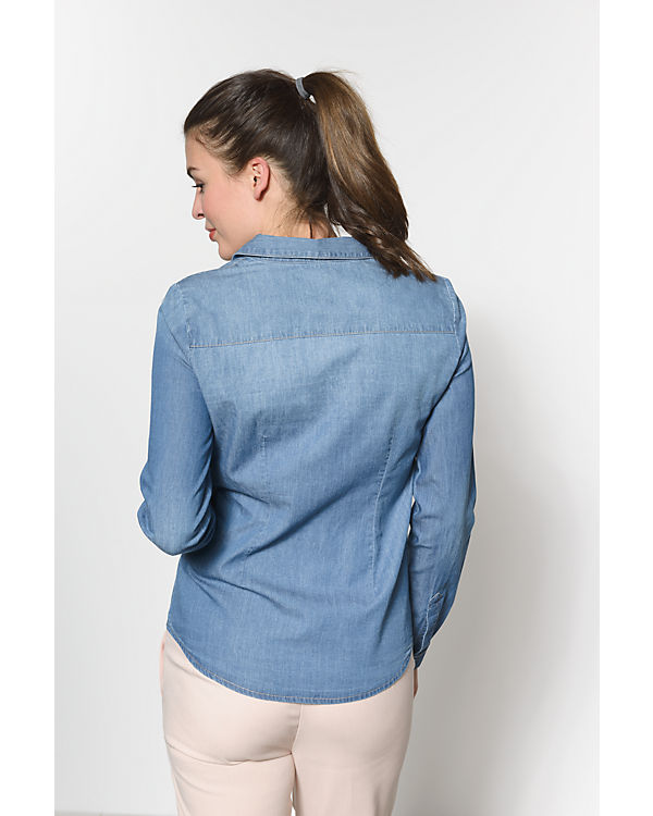 ONLY Jeansbluse blue denim