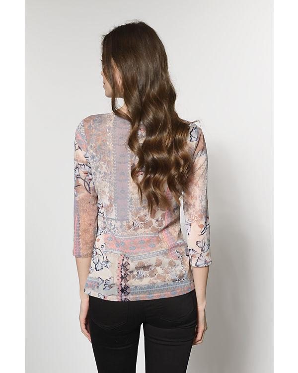 comma 3/4-Arm-Shirt rosa