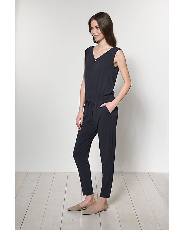 comma Jumpsuit dunkelblau