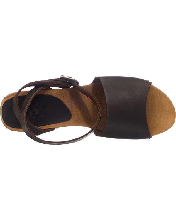 Sanita Yara Sandaletten dunkelbraun