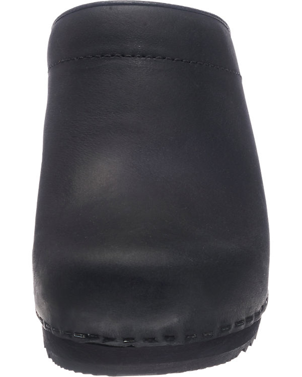 Sanita Chrissy Pantoletten schwarz