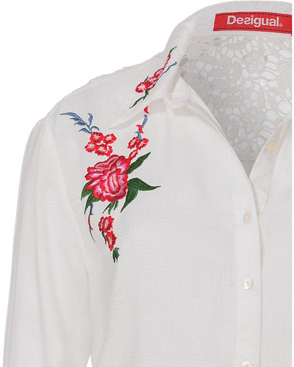 Desigual Bluse weiß