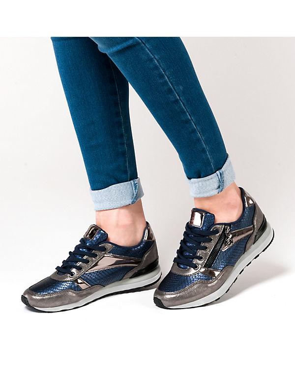 s.Oliver Sneakers blau-kombi