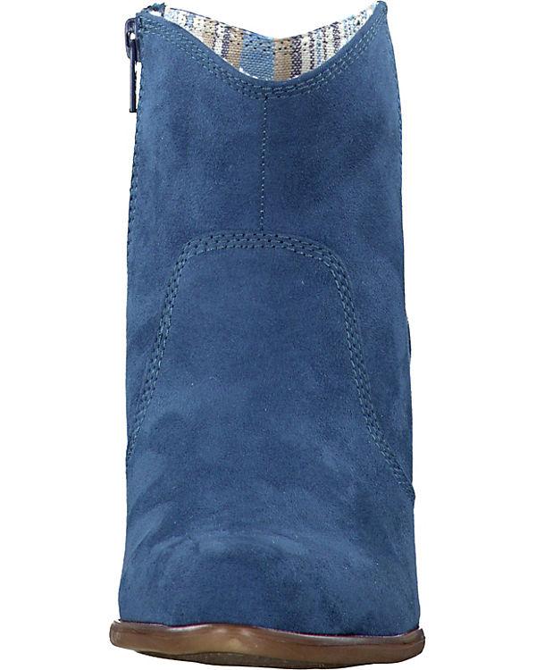 s.Oliver Stiefeletten blau