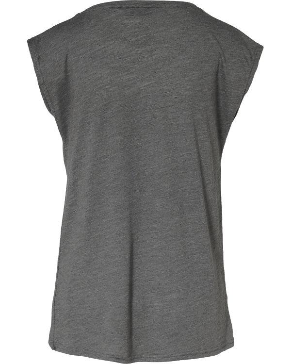 nümph T-Shirt grau