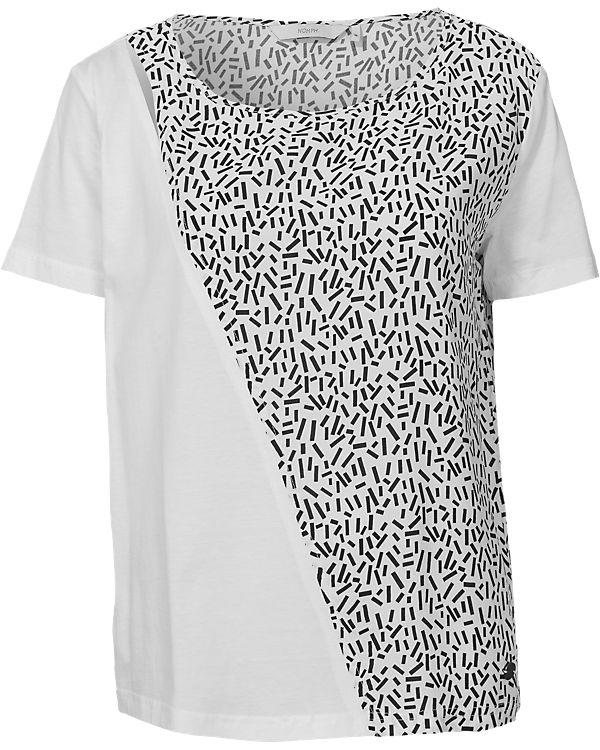 nümph T-Shirt offwhite