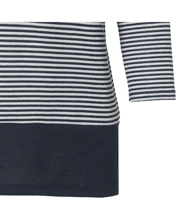 Comma Casual Identity 3/4-Arm-Shirt blau