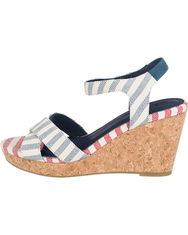 shoe the bear Alec Stripe Sandaletten blau-kombi