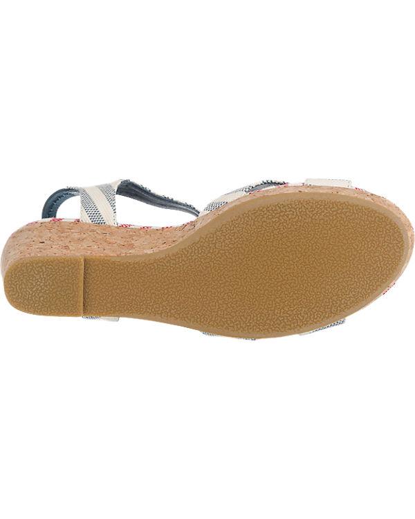 shoe the bear Alec Stripe Sandaletten blau-kombi