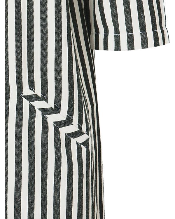 Marc O'Polo Denim Blusenkleid weiß/grau