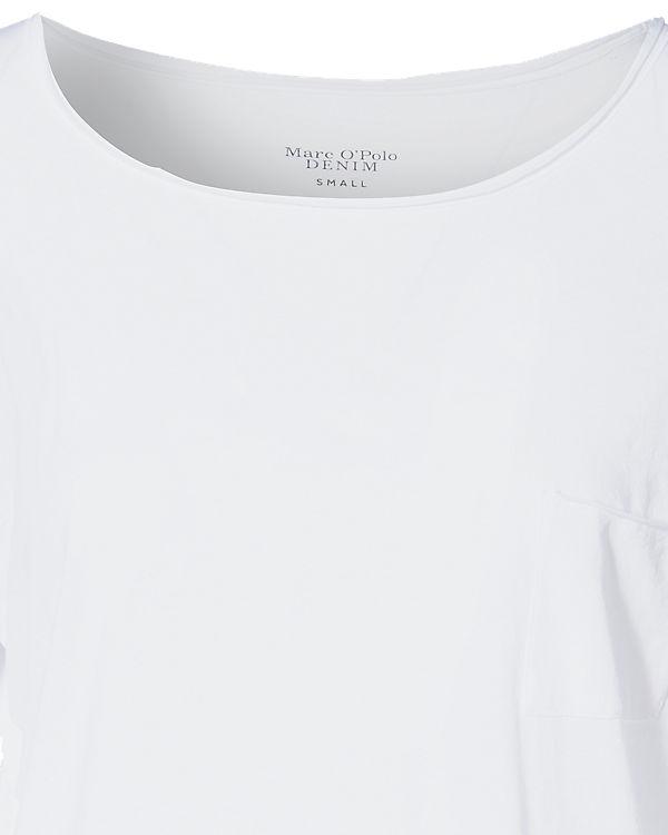 Marc O'Polo Denim Langarmshirt weiß