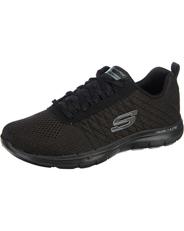 SKECHERS Flex Appeal 2.0 Break Free Sneakers schwarz