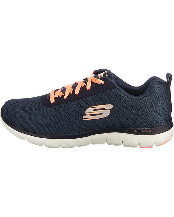 SKECHERS Flex Appeal 2.0 Break Free Sneakers dunkelblau