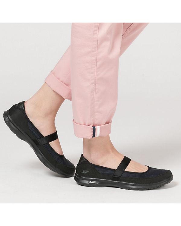 SKECHERS Go Step Original Ballerinas schwarz