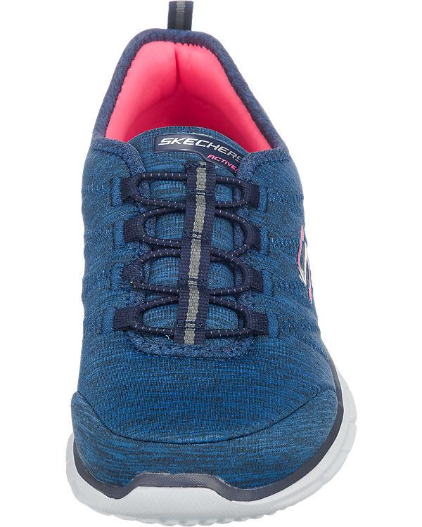 SKECHERS Glider Electricity Sneakers dunkelblau