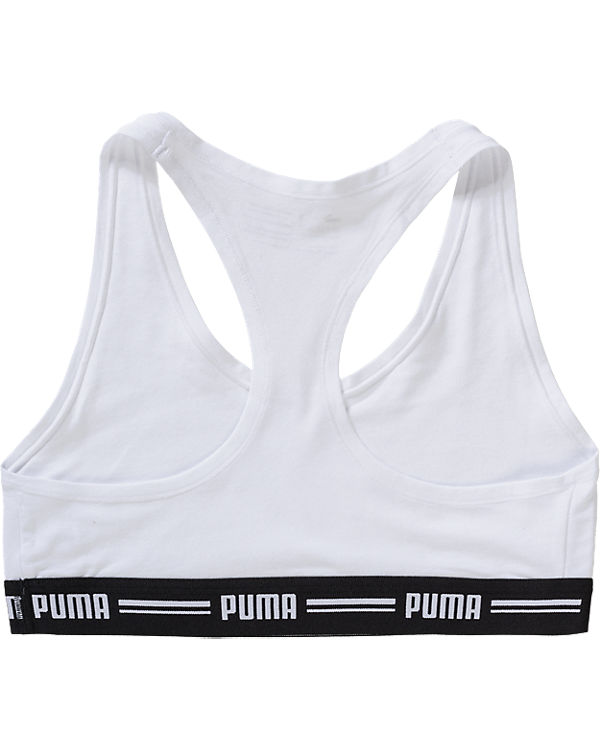 PUMA BODYWEAR Sport-BH weiß