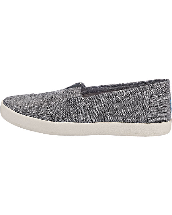 TOMS Avalon Slipper dunkelgrau