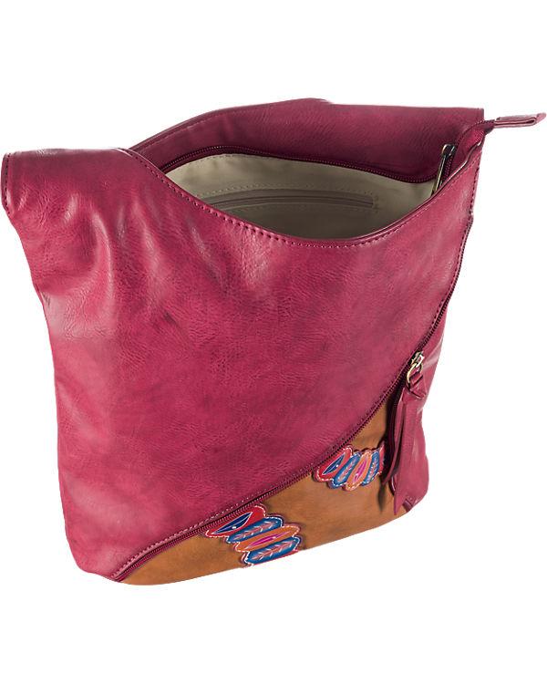 rieker rieker Handtasche rot-kombi