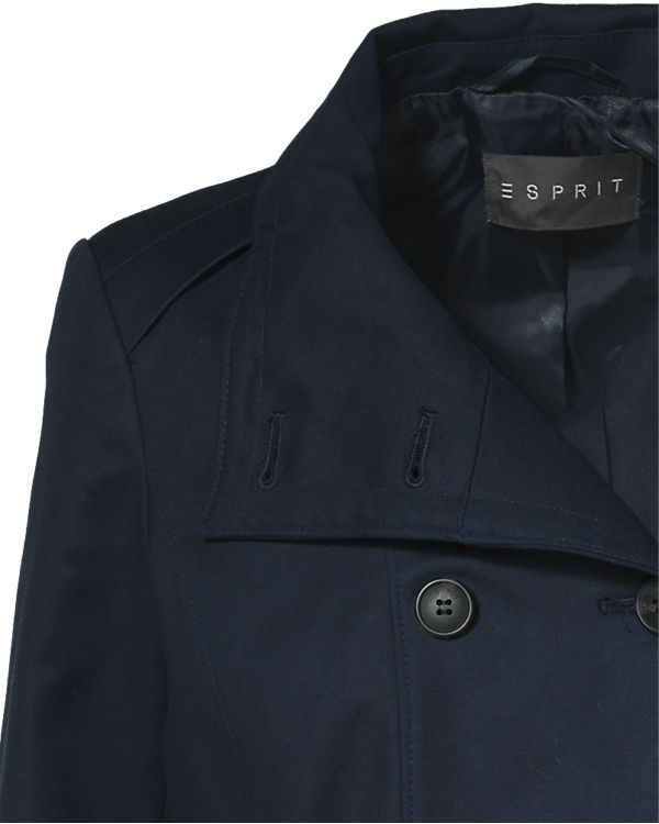 ESPRIT collection Mantel dunkelblau