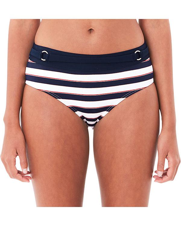 s.Oliver Bikini Slip blau/weiß