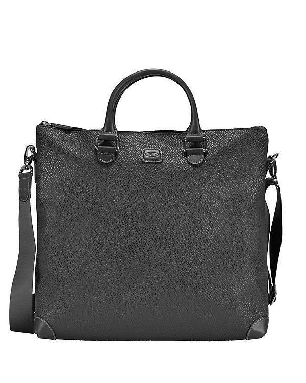 Bric's Bric's Magellano Shopper Tasche 35 cm schwarz