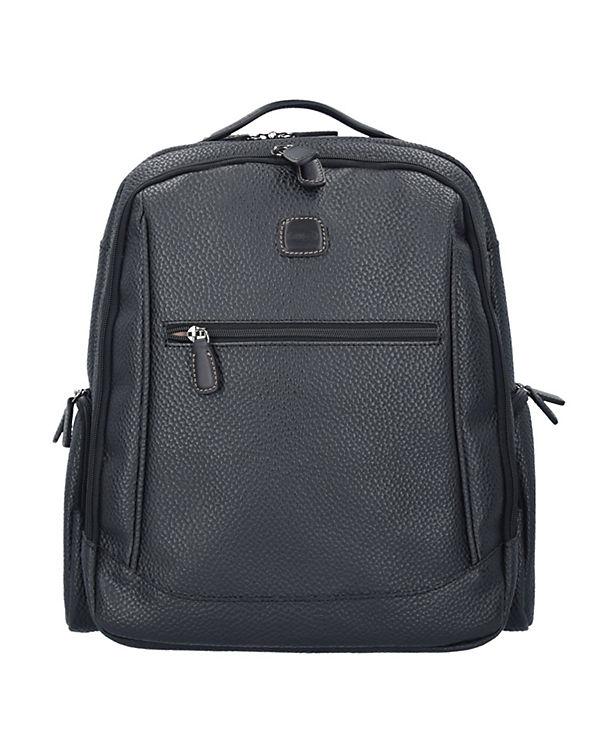 Bric's Bric's Magellano Rucksack 40 cm Laptopfach schwarz