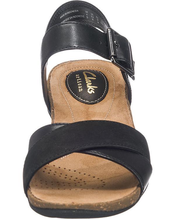 Clarks Autumn Air Sandaletten schwarz