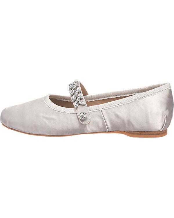 BUFFALO Ballerinas grau
