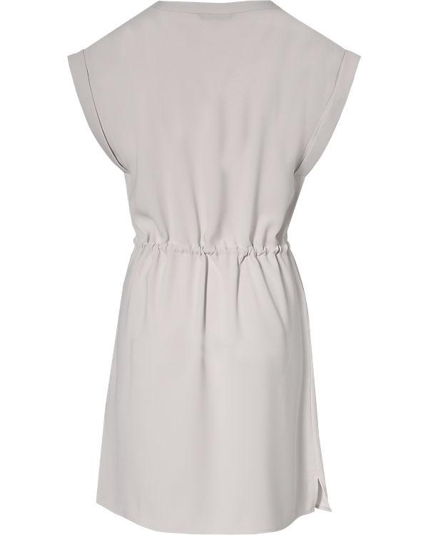ONLY Kleid weiß/grau