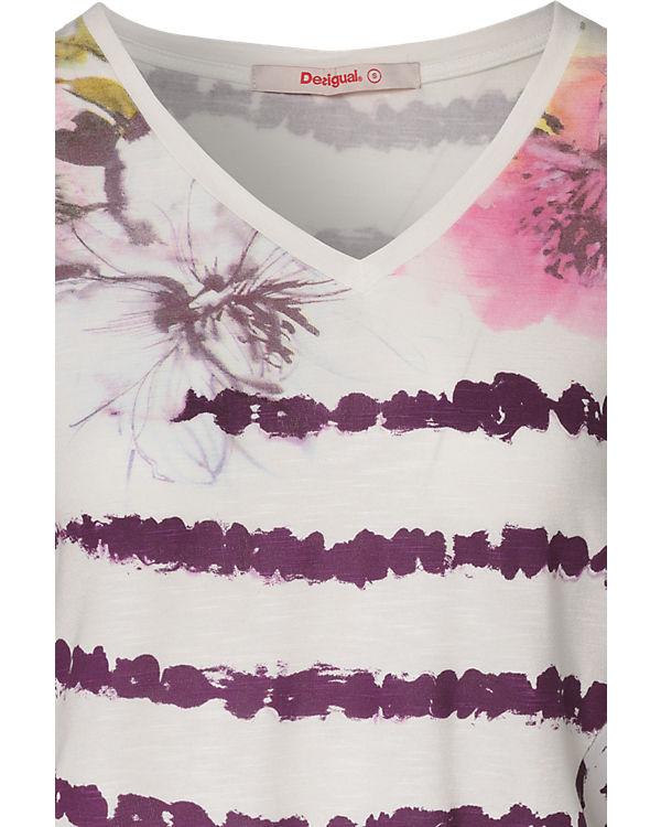 Desigual T-Shirt lila