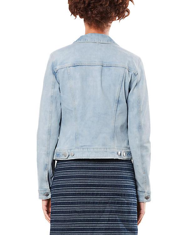 Q/S Jeansjacke blau