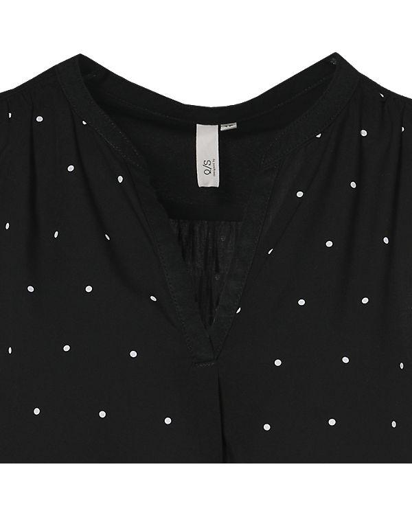 Q/S Blusenkleid schwarz