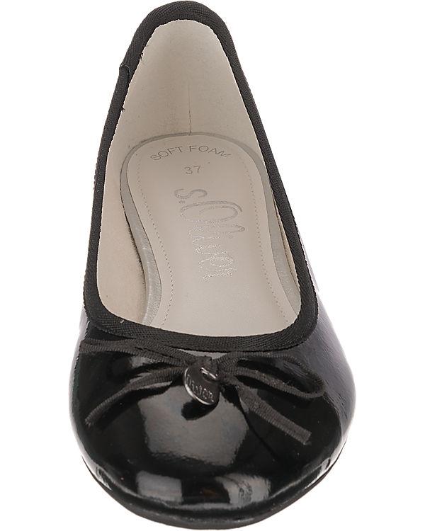 s.Oliver Ballerinas schwarz Modell 1