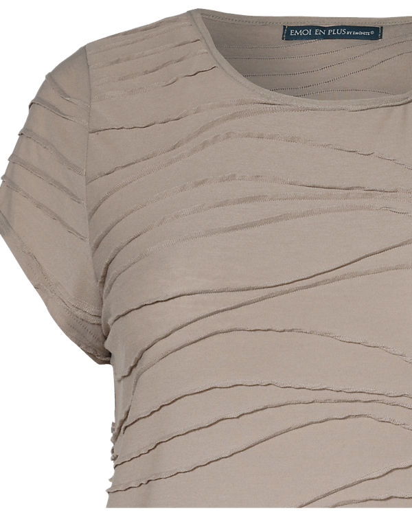 EMOI en plus T-Shirt beige