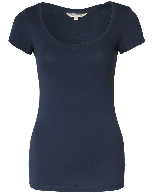 REVIEW T-Shirt dunkelblau