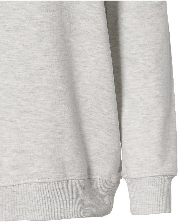 REVIEW Sweatshirt hellgrau