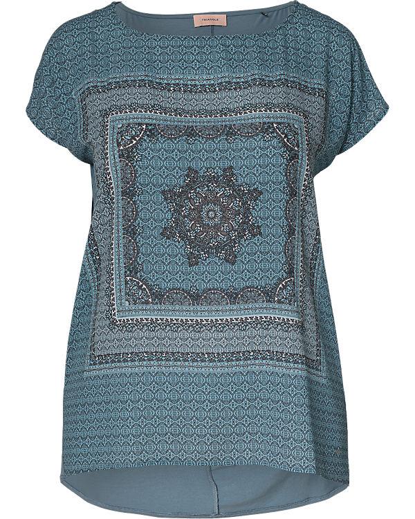 TRIANGLE Blusenshirt blau