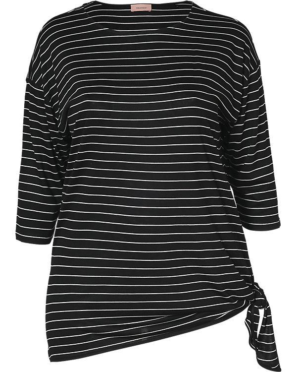 TRIANGLE 3/4-Arm-Shirt schwarz