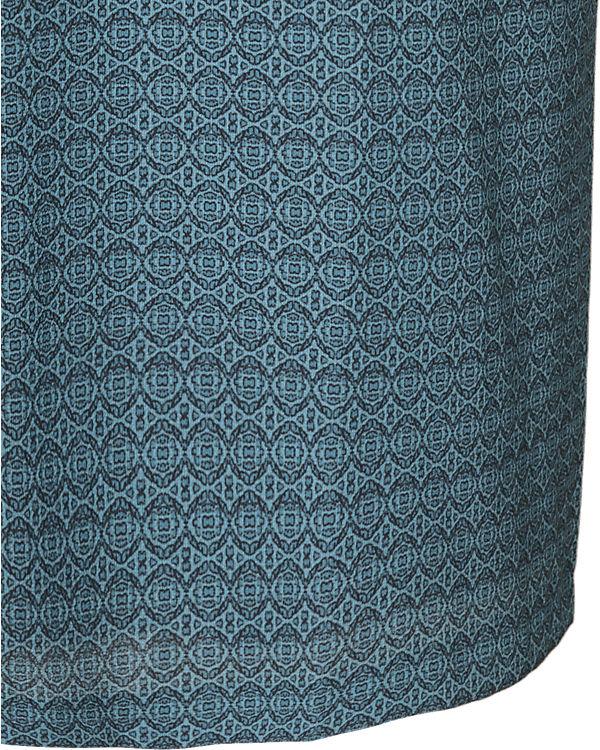 TRIANGLE Blusenkleid blau