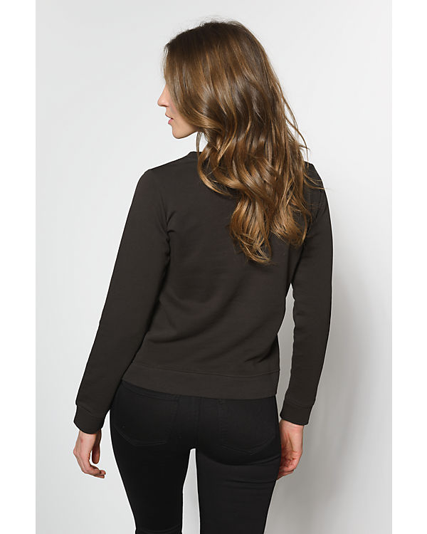 REVIEW Sweatshirt schwarz