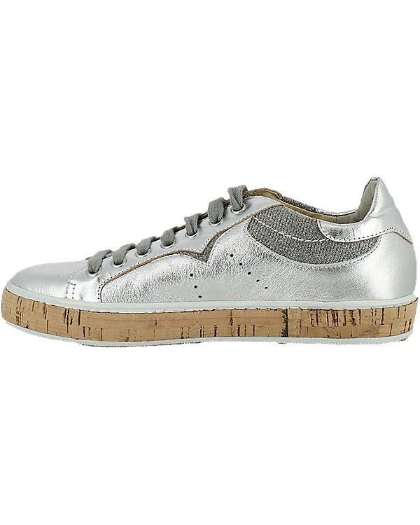 MANAS Sneakers silber