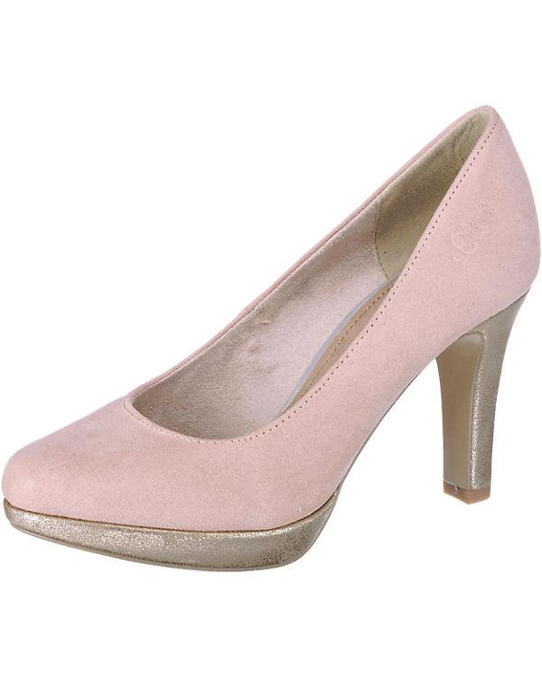 s.Oliver Pumps rosa