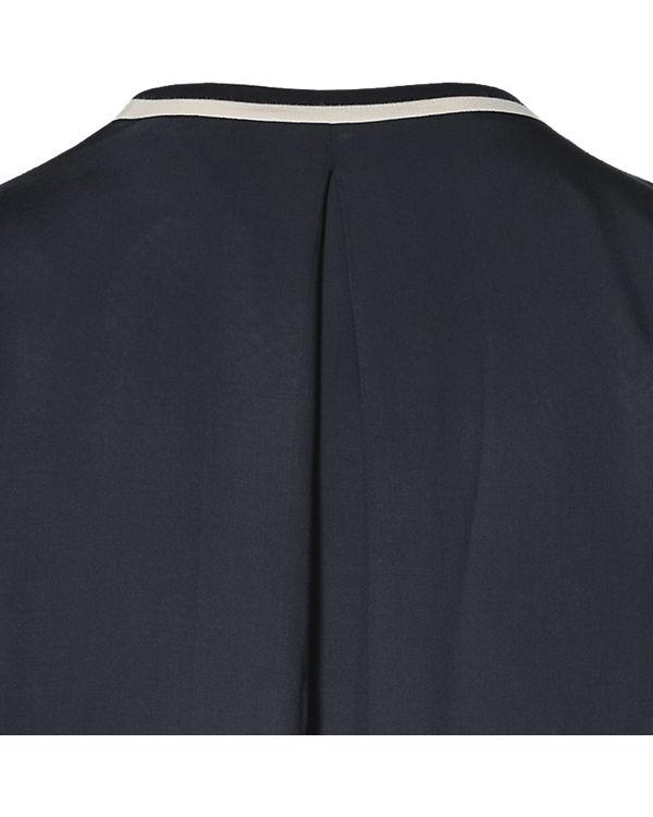 Marc O'Polo Jerseykleid blau/weiß
