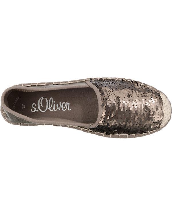 s.Oliver Slipper bronze